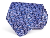 Turnbull & Asser Striped Paisley Wide Tie
