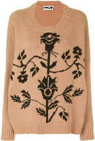 Hache patterned jumper - women - Cashmere/Wool - 40