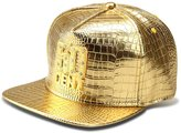 AlwaysBling® Unisex Alligator Pattern 4 Colors Crystals 50 CENT Tag Baseball Cap