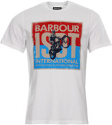 Barbour T Shirt MTS0281 WH11 White