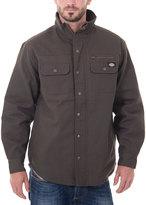 Dickies Dark Brown Quilted Jacket - Men's Regular
