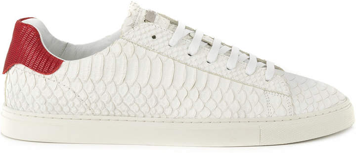 DSQUARED2 snake effect sneakers