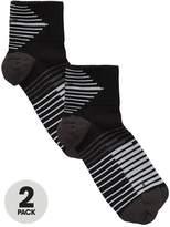 Nike Dry Elite Lightweight Quarter Running Socks