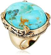 "Barse Jubilee"" Turquoise Oval Ring, Size 6"