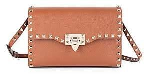 Valentino Women's Garavani Small Rockstud Leather Crossbody Bag