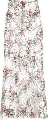 Macgraw Dorathea embroidered skirt