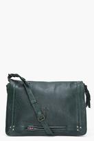 JEROME DREYFUSS Dark Green Albert Messenger Bag