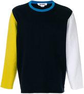 Sunnei colour block sweatshirt