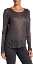 Zadig & Voltaire Long Sleeve Metallic Shirt