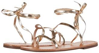 Schutz Urkula (Platina Metallic Nappa) Women's Sandals