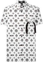 Kokon To Zai monogram shortsleeved shirt