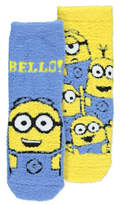 George Despicable Me 3 Minions 2 Pack Lounge Socks