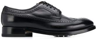 Silvano Sassetti perforated oxford shoes