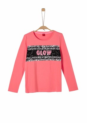 S'Oliver Girl's 66.911.31.7470 Long Sleeve Top