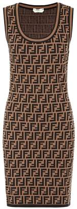 Fendi Stretch-knit minidress