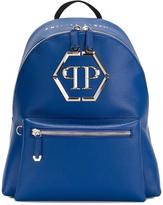 Philipp Plein 'Nicosia' backpack - men - Calf Leather/Polyester - One Size