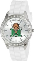 Game Time Women's COL-FRO-MAR Frost College Series Collegiate 3-Hand Analog Watch