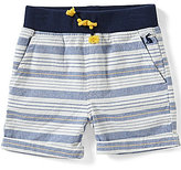 Joules Baby/Little Boys 12 Months-3T Huey Striped Woven Shorts