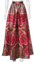 Temperley London Floral Print Maxi Skirt w/ Tags