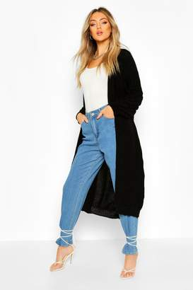 boohoo Bobble Knit Maxi Cardigan