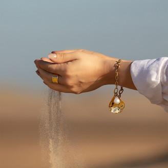 Monica Vinader Alta Capture Mini Link Charm Bracelet