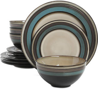 Gibson Everston 12-Pc. Dinnerware Set, Service for 4