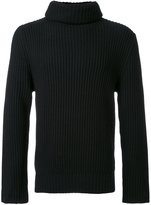 Christian Dada turtleneck ribbed sweater - men - Wool - 48
