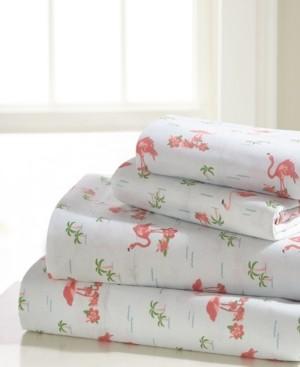 Universal Home Fashions Flamingo King Sheet Set Bedding