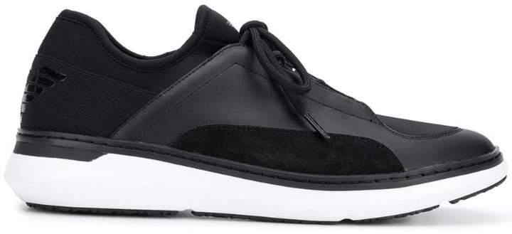 Emporio Armani low-top runner sneakers