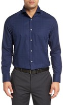 John W. Nordstrom Regular Fit Non-Iron Check Sport Shirt