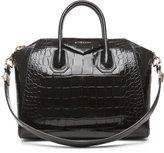 GIVENCHY Medium Antigona Handbag in Black