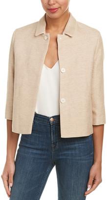 Maje Linen-Blend Jacket