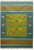 Novica Indo 'Diamond Star' Wool Rug (4' x 6')