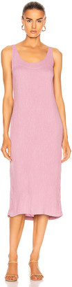 Raquel Allegra Easy Tank Dress in Mauve | FWRD