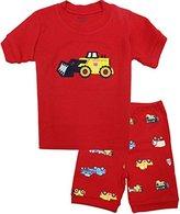 Kidsmall Baby Boys Girls Summer Pajama Set Sleepwear-7T