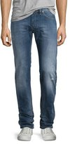 Diesel Safado Medium-Wash Straight-Leg Denim Jeans, Blue
