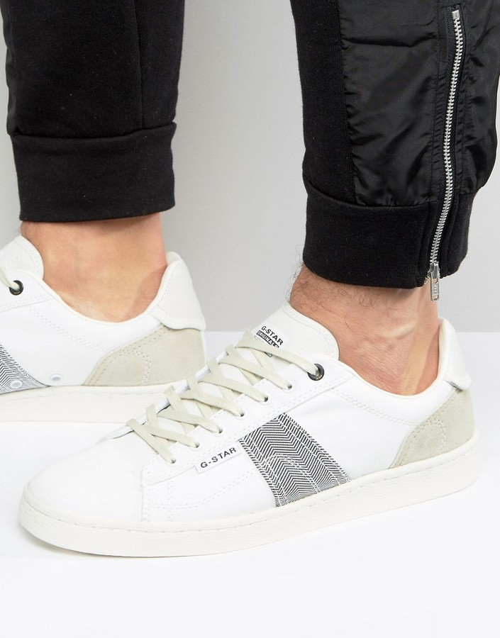 G Star G-Star Barton Sneakers In White