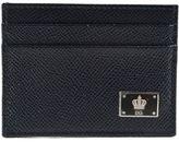 Dolce & Gabbana Crown Logo Plaque Cardholder