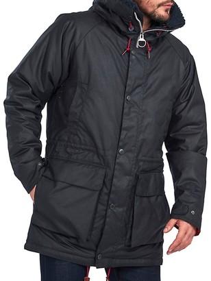 Barbour Cotton Faux Fur Hooded Parka Jacket