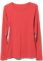 L.L. Bean Signature Cotton/Modal Tee, Long-Sleeve