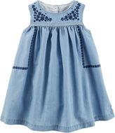 Osh Kosh Oshkosh Sleeveless A-Line Dress - Baby Girls