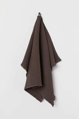 H&M Waffled Hand Towel - Brown