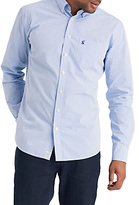 Joules Lyndhurst Fine Stripe Shirt, Bold Blue