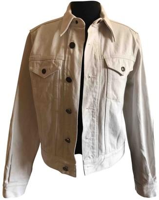 Calvin Klein Ecru Denim - Jeans Jackets