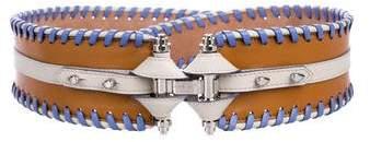 Givenchy Obsidia Leather Waist Belt