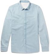 Officine Generale Lipp Slim-Fit Selvedge Denim Shirt