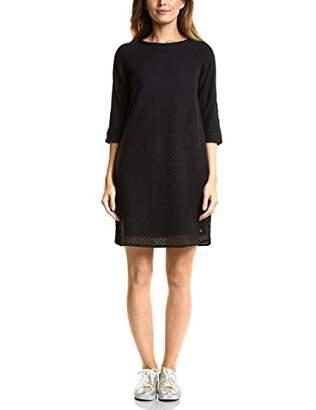 Cecil Women's's 141971 Dress, (Black 10001), Small