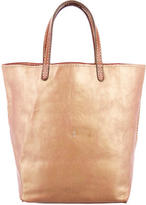 Henry Beguelin Iridescent Leather Handle Bag