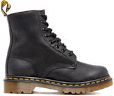Dr. Martens Women's Serena Fur Lined Leather 8-Eye Boots