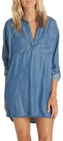 Billabong Women's Wandering Blues Chambray Shirtdress